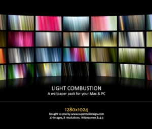 Light Combustion Wallpaper Pack